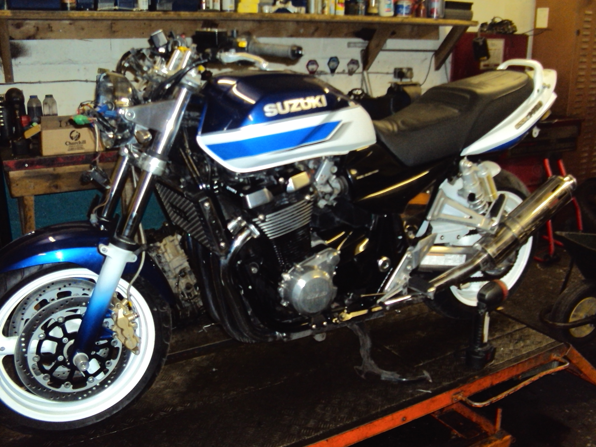 RECENT SALVAGE - Pro Motorcycle Salvage - UK Bike Breaker